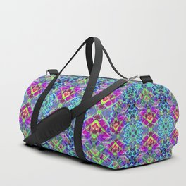 Fractal Art Stained Glass G304 Duffle Bag