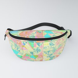 Pastell Triangle Fanny Pack