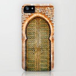 Door Hassan Tower Morocco - For Doors & Travel Lovers iPhone Case