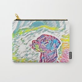 Rottweiler Pastel Rainbow Carry-All Pouch