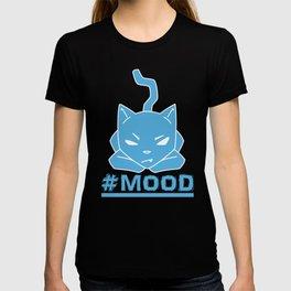 #MOOD Cat Blue T-shirt