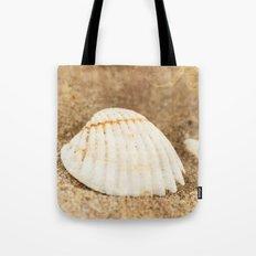 White shell Tote Bag