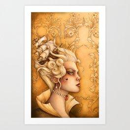 'Ninon' Art Print