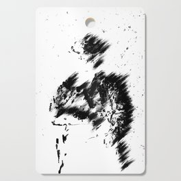Abstract Soldier (Black) Cutting Board