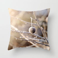 Hanging by a Thread Throw Pillow