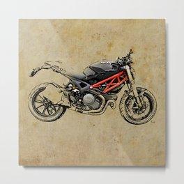 Ducati Monster 796 Metal Print