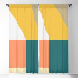 Abstract Geometric 18 Blackout Curtain