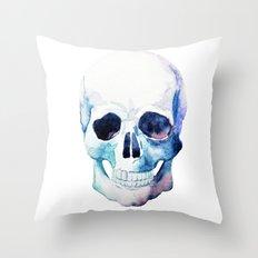 Skull 07 Throw Pillow