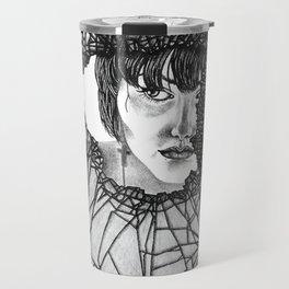 Through the broken glass Travel Mug