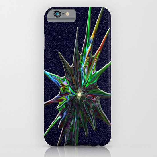 Fractal Splash iPhone & iPod Case