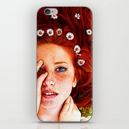 Quintessentially Redhead - Ballpoint Pen iPhone Skin