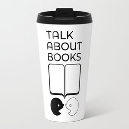 Talk About Books (Mix) Travel Mug
