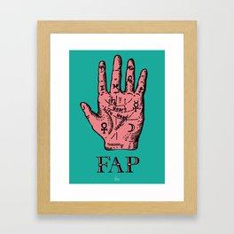 Fap (Hand) Framed Art Print