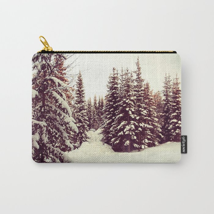 Christmas Trees Carry-All Pouch