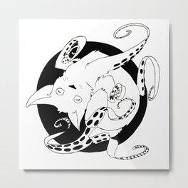 The Alien Cat Metal Print