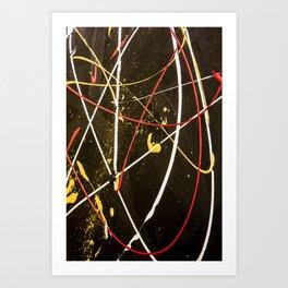 Golden Blare Art Print