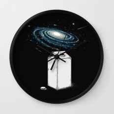Milky Galaxy Wall Clock