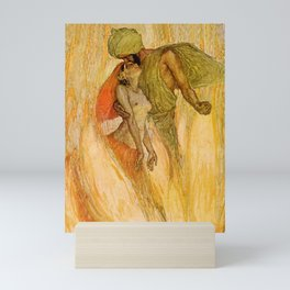 """""""God and the Bajadere"""" by Erich Schutz Mini Art Print"""