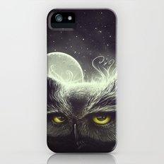 Owl & The Moon iPhone (5, 5s) Slim Case