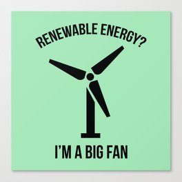 Renewable Energy Canvas Print