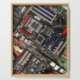 Computer motherboard Serving Tray