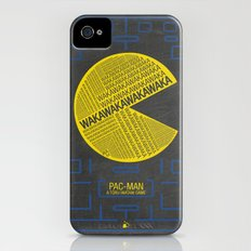 Pac-Man Typography Slim Case iPhone (4, 4s)