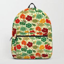 Nasturtiums & Snails Backpack