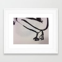 heels Framed Art Prints featuring heels by R. Bender