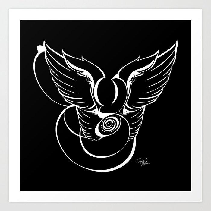 AngeloDiabolico G - Take 2 Art Print