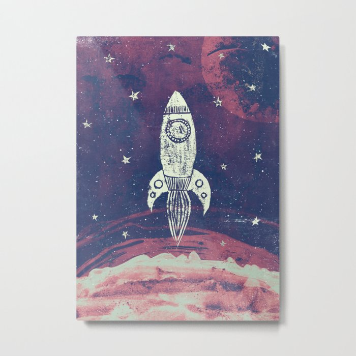 Space Adventure Metal Print