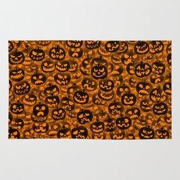 Scary pumpkins Rug