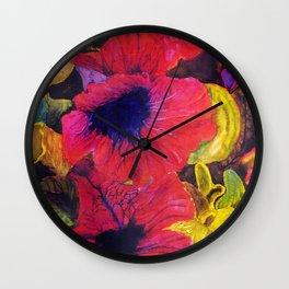 Jungle Fever by Nadia J Art Wall Clock