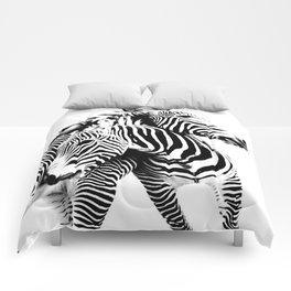 Grevy's Zebras Comforters