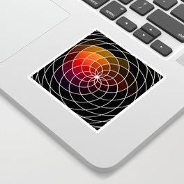 Dark Kaleidoscope Sticker