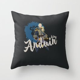 PEOPLE of AZEROTH: Anduin Throw Pillow
