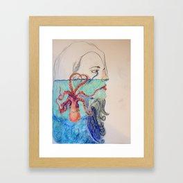 Ocean Deep Framed Art Print