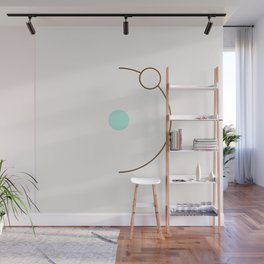 Balm 06 // ABSTRACT GEOMETRY MINIMALIST ILLUSTRATION by Wall Mural