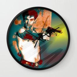 Hollywood Icons - Mr DeNiro Wall Clock