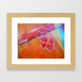 Coraje // Courage Framed Art Print