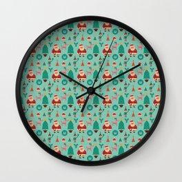 Lovely Christmas Wall Clock