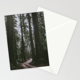 Redwoods Road Stationery Cards