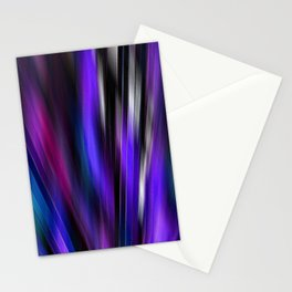 Re-Created  Feather ix by Robert S. Lee Stationery Cards