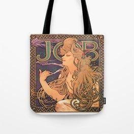 Vintage poster - JOB Cigarettes Tote Bag