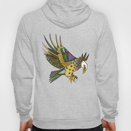 jewel eagle white Hoody
