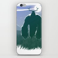 yeti iPhone & iPod Skins featuring Yeti by Megalomatthew