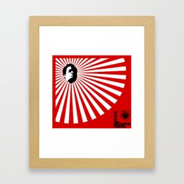 Unfinished Lights (The Face Collection) Framed Art Print