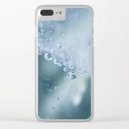 Dewdrops collection #1 Clear iPhone Case