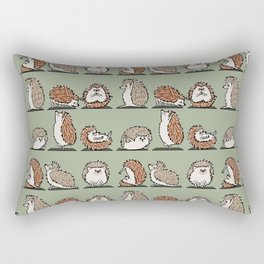 Hedgehog Yoga Rectangular Pillow