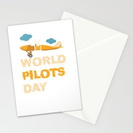 World Pilot Day Stationery Cards