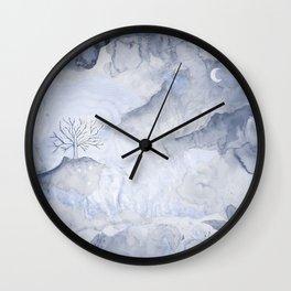 Nature Wash Wall Clock